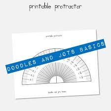 printable protractor. printable protractor
