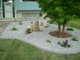 office landscaping ideas. Landscaping Ideas For Front Yard With Stone Garden Post. Inside House Design. Interior In Office I