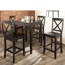 wonderful pub table and 4 chairs round pub table and chair sets round pub table and