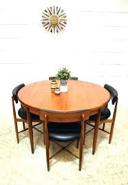 retro round dining table full size of home dazzling design