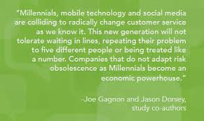 Millennial Quotes Awesome Custom Millennial Research On Customer Service Expectations