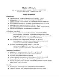 Non Profit Resume Accounting Resume' Marty Close 18