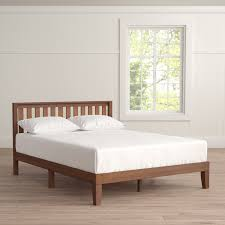 wood platform bed frame full. Contemporary Wood Dalila Solid Wood Platform Bed On Frame Full A