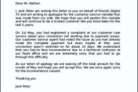 sample apology letter to customer complaint templatezet sample apology letter to customer complaint