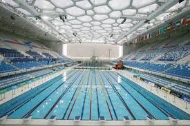 olympic swimming pool background. Beijing Olympic Swimming Pool. Pool Background R
