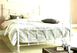 King Size Wrought Iron Bed Metal Beds Frame Canopy – soundbyteapp.co