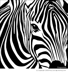 Small Picture Zebra head coloring page DIY Art Misc Pinterest Mosaics