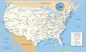 Map of the United States - Nations Online Project