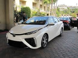 new car 2016 toyotaHydrogen FuelCell Vehicle News From Los Angeles Auto Show