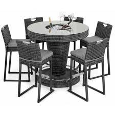 milan rattan garden furniture grey 6