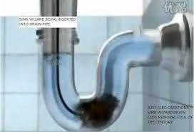 bathroom drain clogged. SINK WIZARD THE DIY DRAIN CLOG REMOVAL TOOL Bargains Galore Store Bathroom Drain Clogged