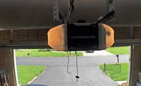 smart garage door openerChamberlain WiFi Garage Door Opener Review