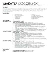 Sample Resume For Financial Services Financial Advisor Resume Examples Airexpresscarrier Com