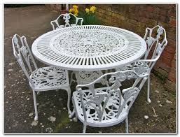 white wrought iron furniture. Gallery Of Wrought Iron Patio Furniture Sets Pictures New Vintage Shabby Chic Petite White Valuable 2 T