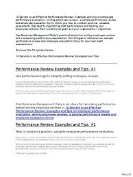 Sample Employee Performance Appraisal List Designer Sample Goals For Employees Resume Setting Job Your