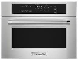 KitchenAid 1.4 Cu. Ft. Built-In Microwave Silver KMBS104ESS - Best Buy