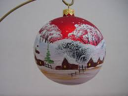 Hand Decorated Christmas Balls Hand Painted Christmas Ball Jólajóla Pinterest Ornament 3