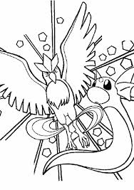 Small Picture Articuno Coloring Pages Legendary Pokemon Coloring Pages