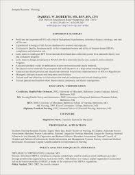 New Grad Nursing Resume Examples Free Resume Examples