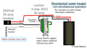how to wire water heater for 120 volts 240 volt light wiring how to wire an outlet in series at 120 Volt House Wiring Diagram For Lights