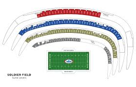 Soldier Field Chart Executive Suite Soldierfield Net