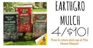 on black mulch 4 bags for 10