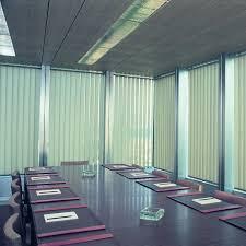 Office window blinds Business Vertical Blinds Boardroom Blindstercom Why Vertical Blinds Are Ideal For Offices Vertical Blinds Direct Blog