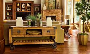 a mobile table is a good idea if you want a cal and flexible interior design