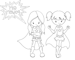 Female Superhero Coloring Pages Super Hero Coloring Books Iby7 Printable Female Superhero Coloring