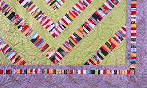 Colorful Contemporary Quilts with Unique Striped Patchwork Designs & ... of quilt designs. For adding a touch of romance and style to room  decor, striped patchwork quilts can work wonders, enhancing interior  decorating with ... Adamdwight.com