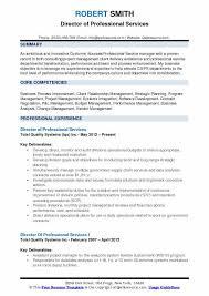 Resume Professional Services Director Of Professional Services Resume Samples Qwikresume