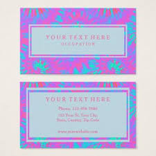 tie dye business cards pink and blue tie dye pattern and your text business card in 2018