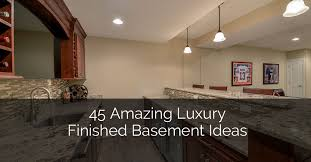 Finished Basement Designs Classy 48 Amazing Luxury Finished Basement Ideas Home Remodeling