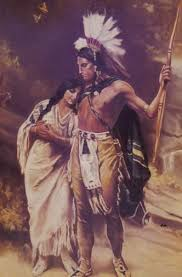 best the song of hiawatha images henry wadsworth hiawatha and minnehaha after j l g ferris by hal sherman