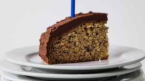 Happy Birthday Banana Cake With Chocolate Icing Recipes Eat Well