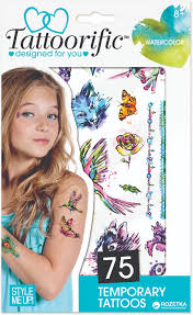 наклейки переводные наклейки татуировки Wooky Watercolor 0116401163