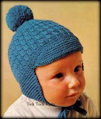 Earflap Hat Knitting Pattern Gorgeous No48 Baby Hat Knitting Pattern PDF Vintage Earflap Hat Etsy