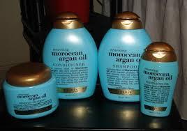 argan oil repairing shoo organix macadamia oil conditioner organix