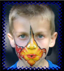 face painting for childrens parties too