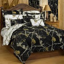 ap camo black white comforter black side