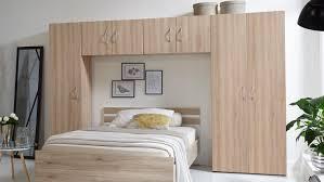 Bettüberbau Mrk Schlafzimmer überbauschrank In Eiche Sägerau überbau