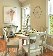 round dining tables are a perfect fit for small rooms dinner table set chairs spaces room
