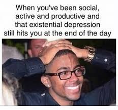 Image result for memes about depression