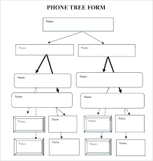 Calling Tree Template Excel Call Tree Template Free Emergency Calling Phone Phone Tree