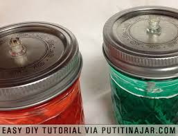 diy mason jar oil lamps using fiberglass wicks and insert 4