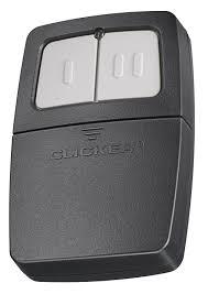 universal garage door keypadClicker Universal 2Button Garage Door Opener Remote KLIK1C Works