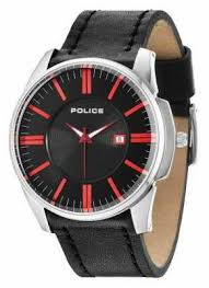 police mens watches official uk retailer first class watches police mens governor black watch 14384js 02