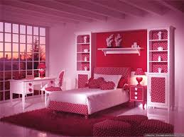 Bedroom Ideas : Fabulous Luxury Pink Teen Girls Bedroom Design Ideas With  Red Dotted Laminated Headboard And White Plaid Frame Glass Window Also  Rectangle ...