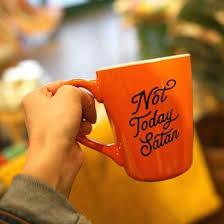 <b>Not Today Satan</b> Mug – Patina Stores