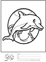 Small Picture Dolphin Coloring Pages 6 Coloring Kids Coloring Coloring Pages